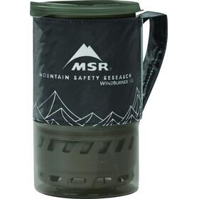 MSR WindBurner System - 1l 3 lang noir